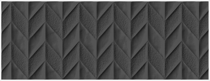 3D Chevron Black